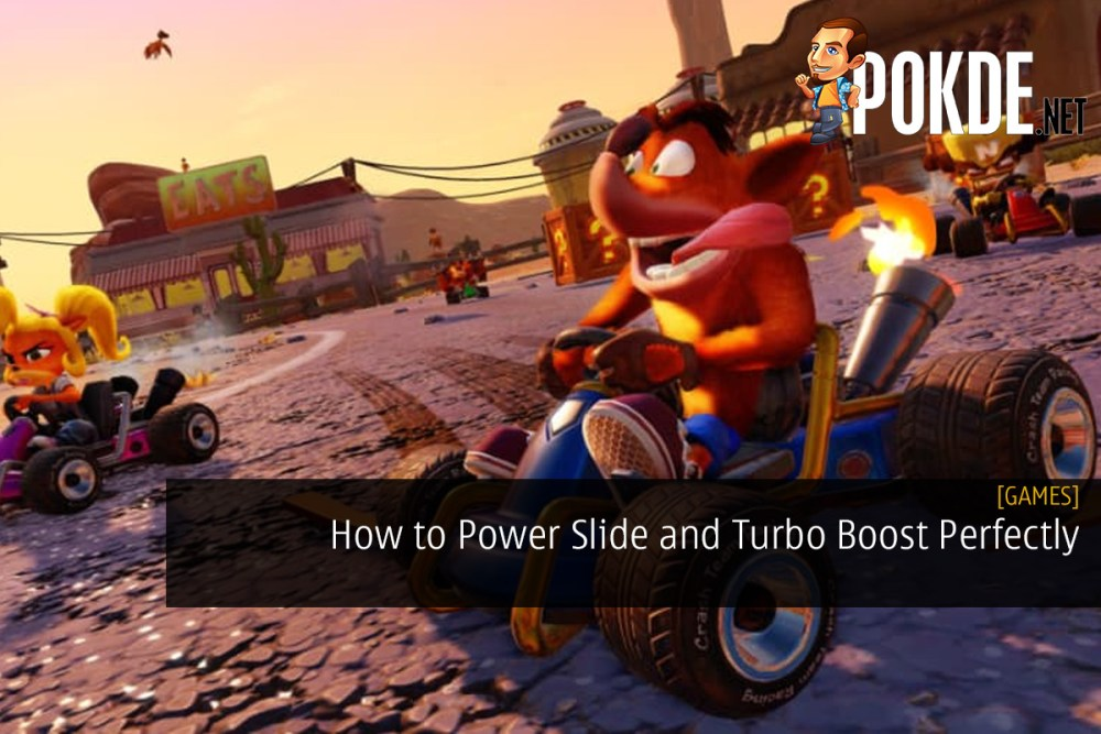Crash Team Racing Nitro-Fueled: How to Power Slide and Turbo
