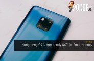 HUAWEI Hongmeng OS Is Apparently NOT for Smartphones