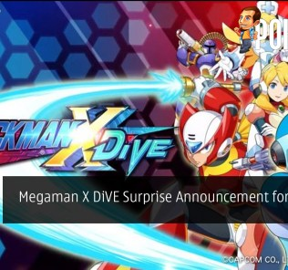 Megaman X DiVE Surprise Announcement for iOS and Android