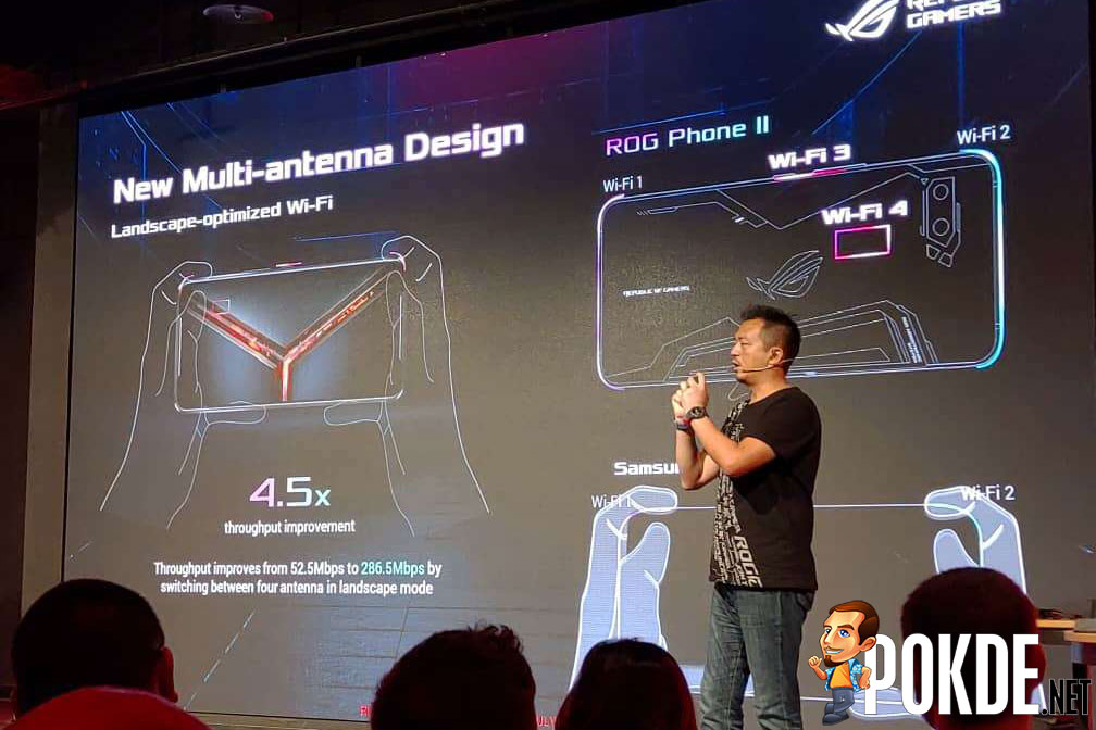 The ROG Phone II announced with ridiculously overkill