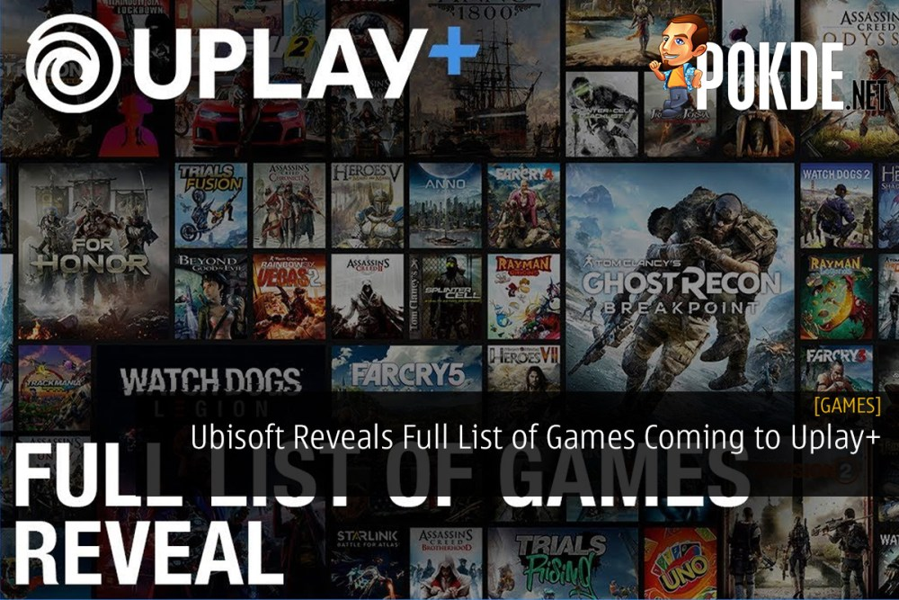 Ubisoft Reveals Full List of Games Coming to Uplay+
