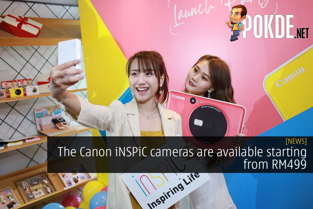 The Canon iNSPiC cameras are available starting from RM499 16