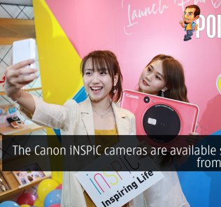 The Canon iNSPiC cameras are available starting from RM499 36