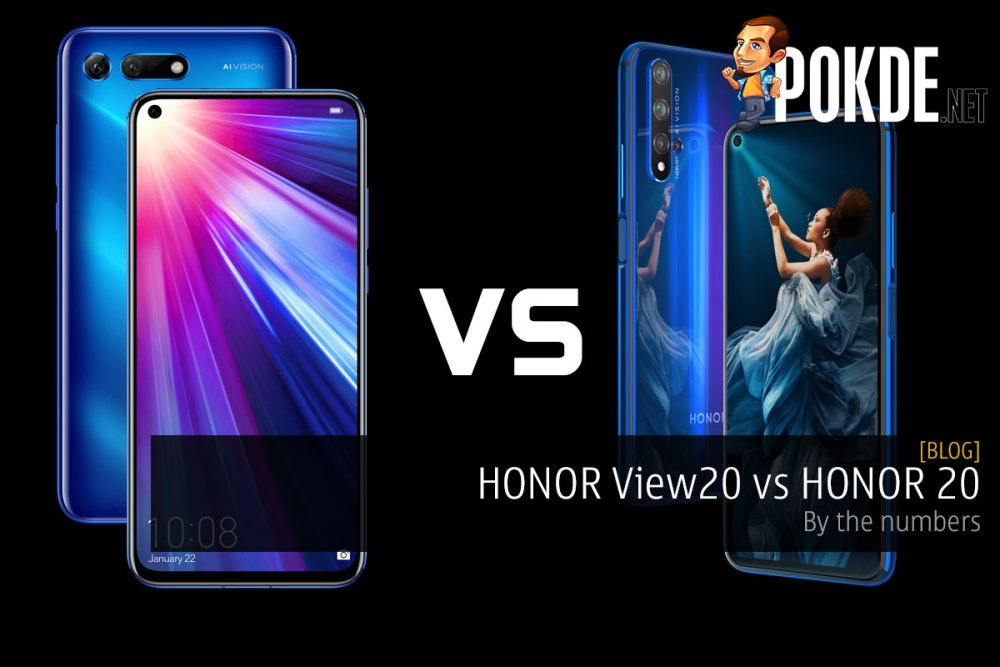 HONOR View20 vs HONOR 20 — by the numbers 25