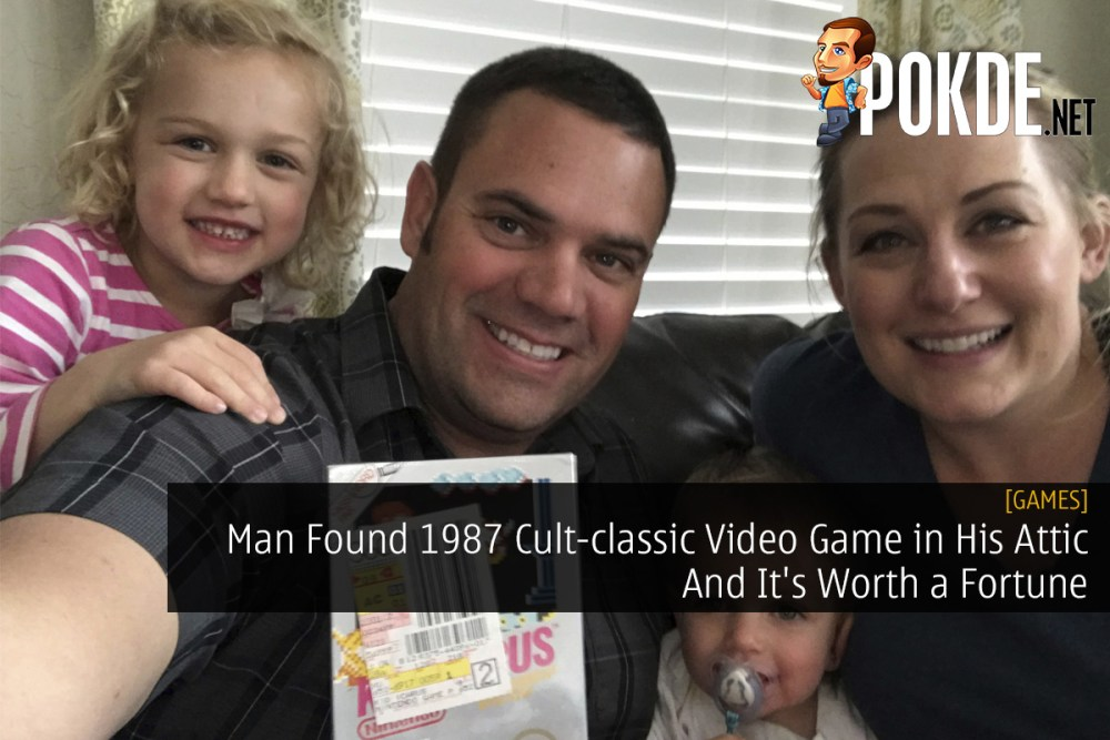 Man Found 1987 Cult-classic Video Game in His Attic And It's Worth a Fortune