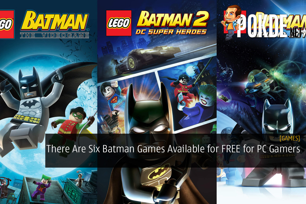 There Are Six Batman Games Available for FREE for PC Gamers
