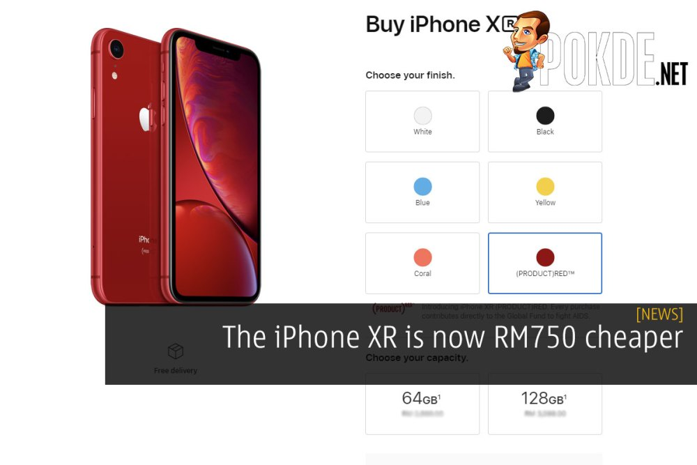The iPhone XR is now RM750 cheaper 34