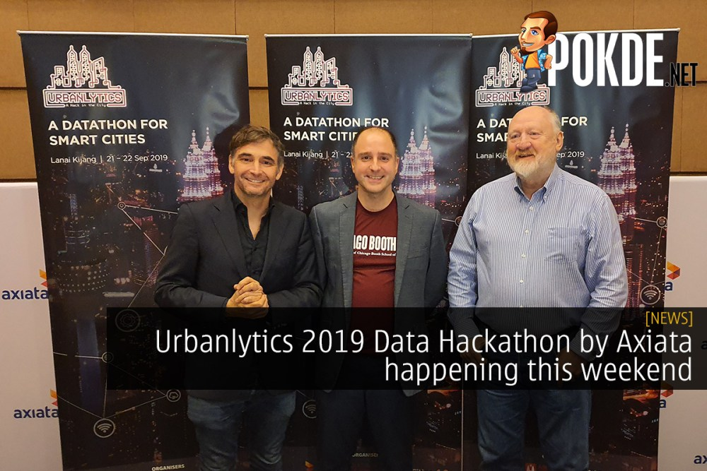 Urbanlytics 2019 Data Hackathon by Axiata happening this weekend 18