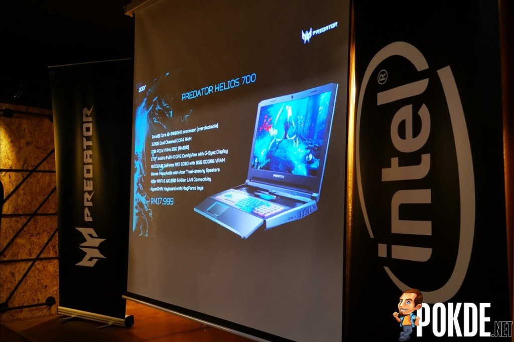 The Beastly Acer Predator Helios 700 is Now Available in Malaysia - 18.9% More Airflow with HyperDrift 20