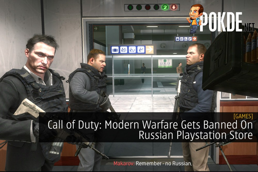 Call of Duty: Modern Warfare Gets Banned On Russian Playstation Store 21