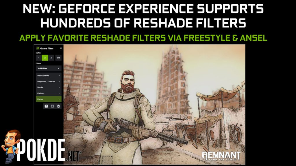 reshade filter geforce experience