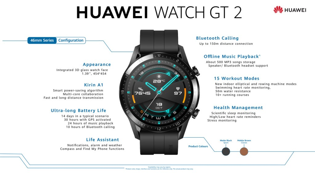 HUAWEI Watch GT 2 46mm Now Available In Malaysia At RM799 21