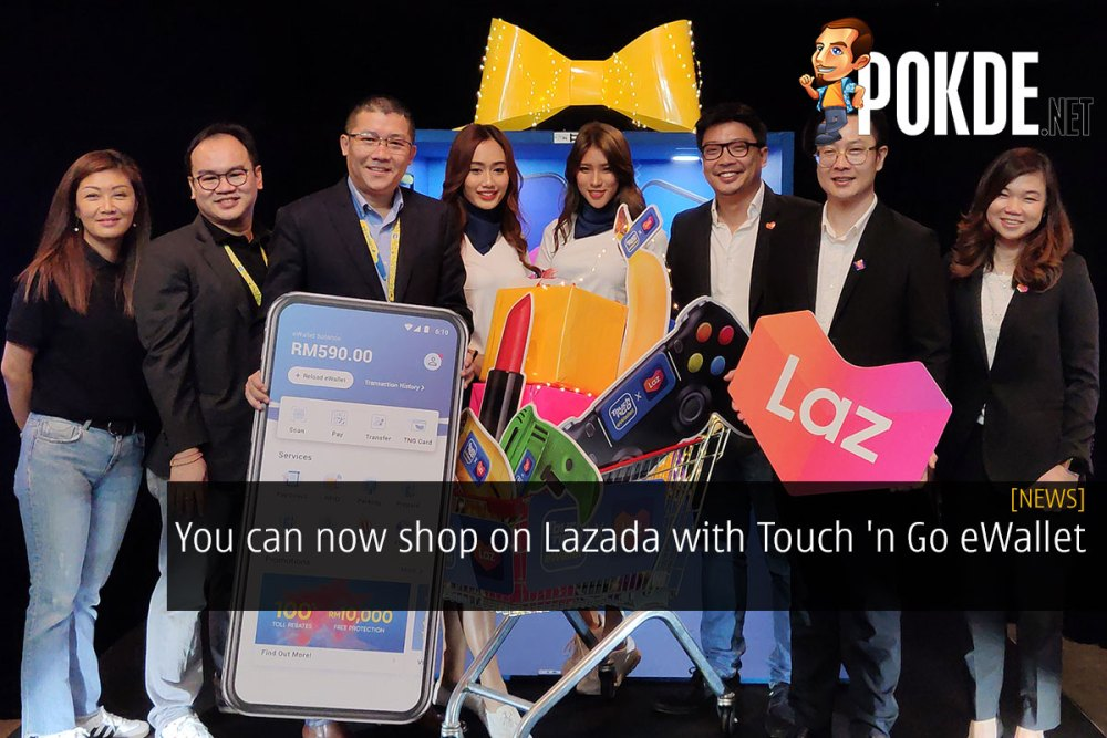 You can now shop on Lazada with Touch 'n Go eWallet 23