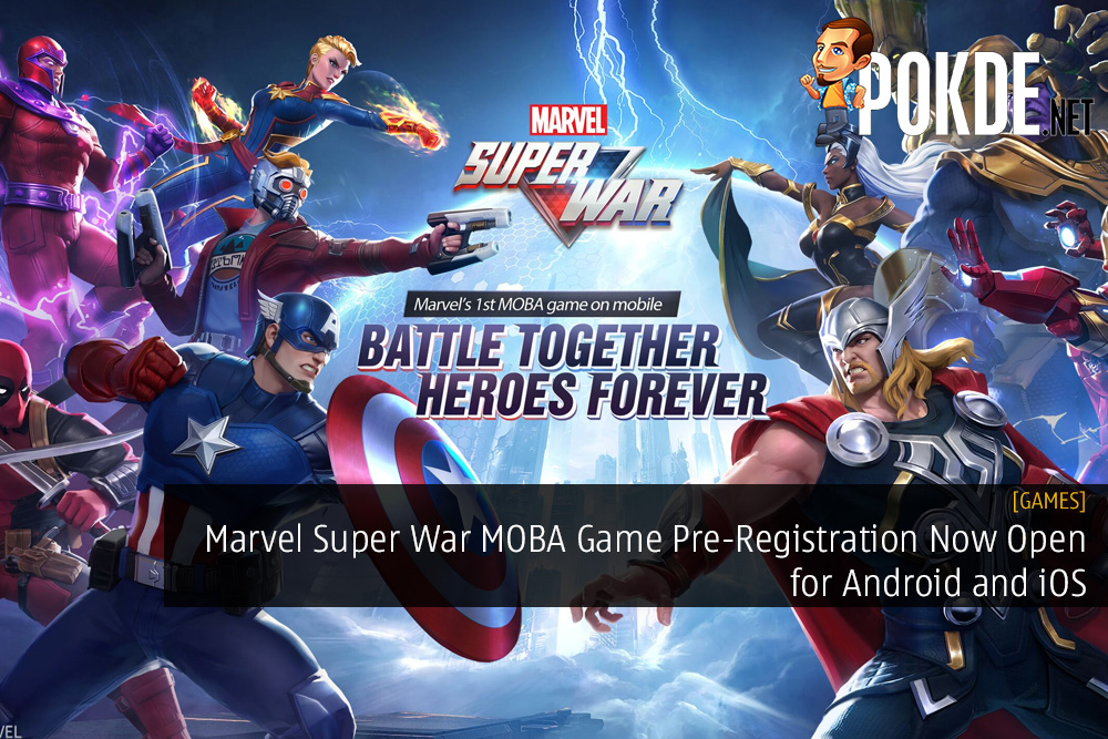 Marvel Super War MOBA Game Pre-Registration Now Open for Android and iOS