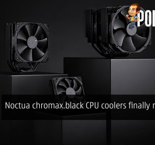 Noctua chromax.black CPU coolers finally released 33