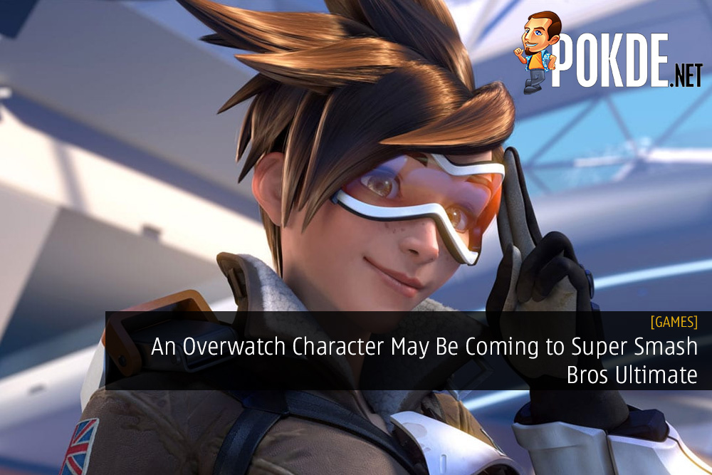 An Overwatch Character May Be Coming to Super Smash Bros Ultimate