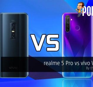 realme 5 Pro vs vivo V17 Pro — by the numbers 20