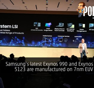 Samsung's latest Exynos 990 and Exynos Modem 5123 are manufactured on 7nm EUV process 32