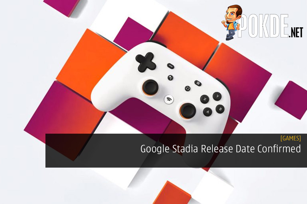 Google Stadia Release Date Confirmed