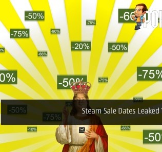 Steam Sale Dates Leaked Yet Again - Get Your Games At These Dates