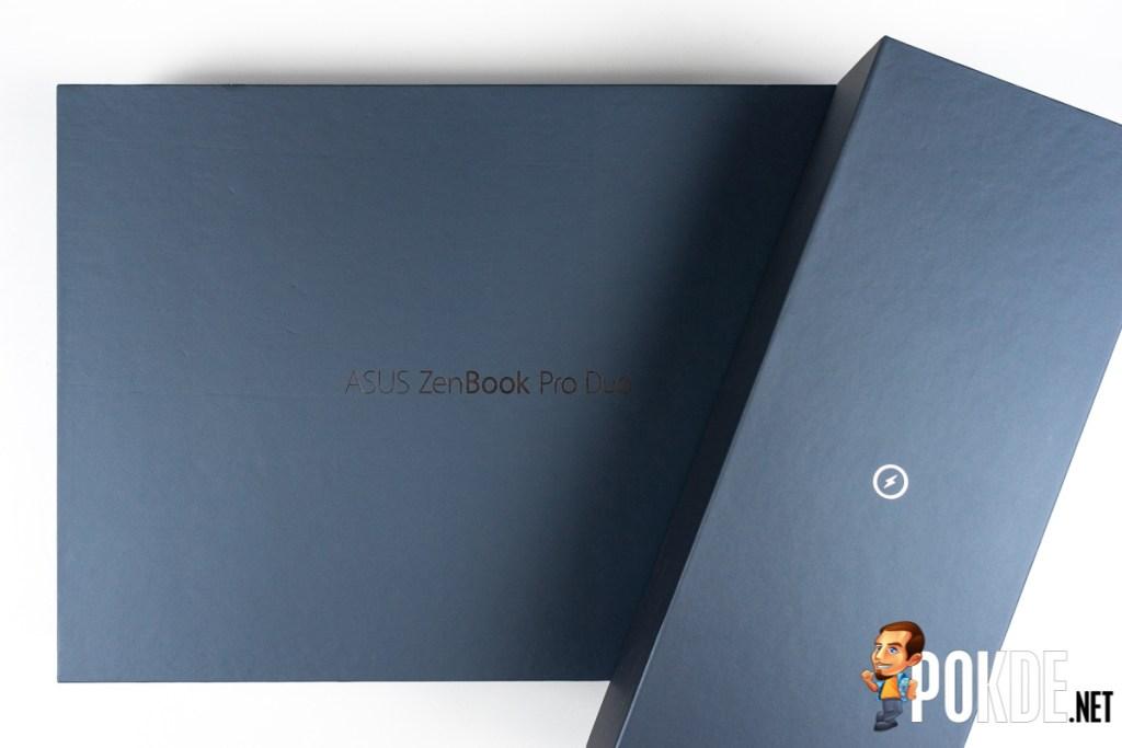 asus zenbook pro duo ux581 packaging