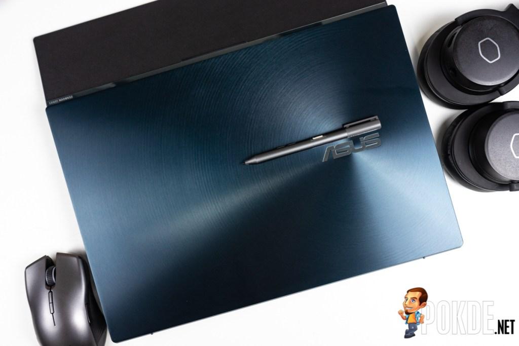 asus zenbook pro duo ux581 lid