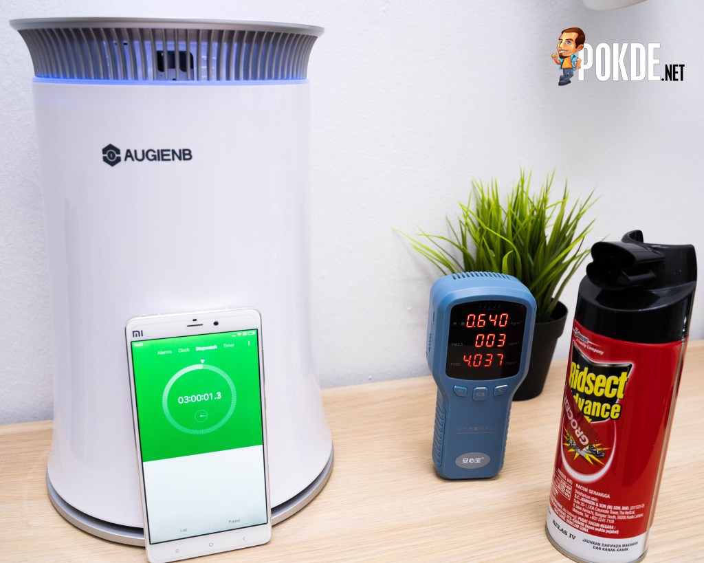 The curious case of AUGIENB HEPA Air Purifier 19