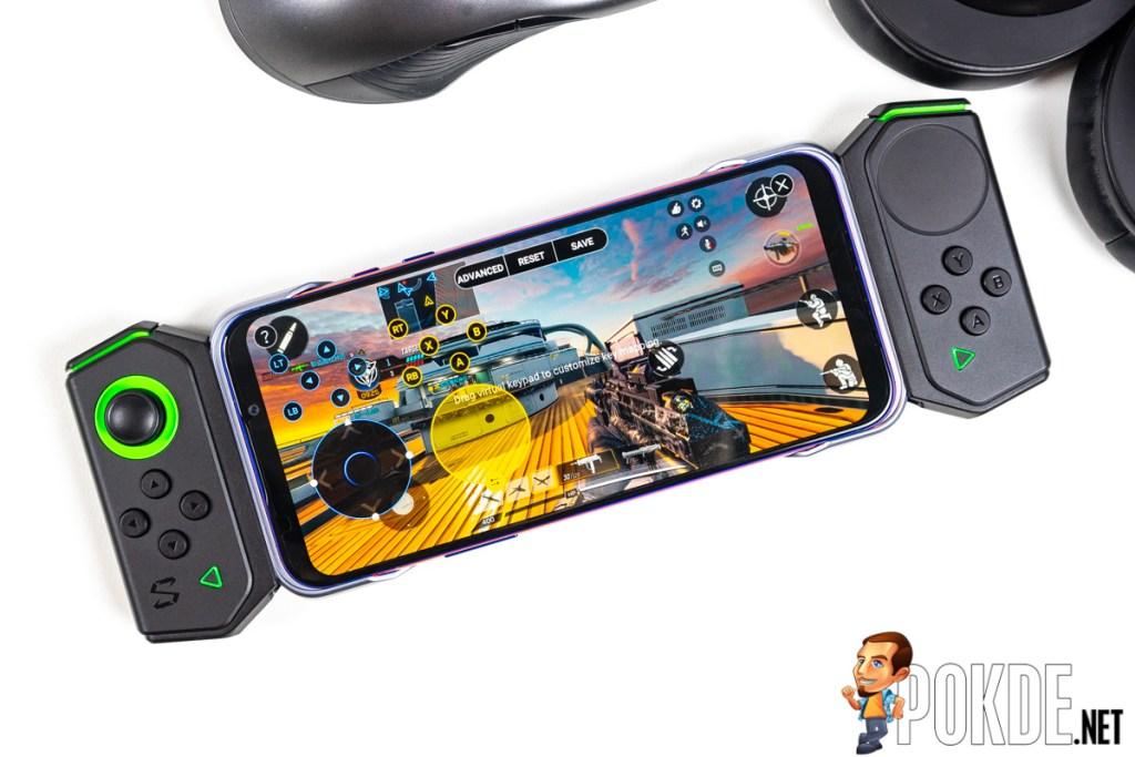 black shark 2 pro review gamepad