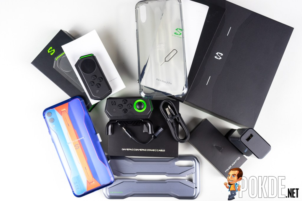 black shark 2 pro review package contents