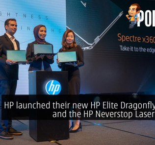 HP launched their new HP Elite Dragonfly laptop and the HP Neverstop Laser printer 27