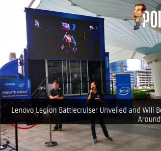 Lenovo Legion Battlecruiser Unveiled and Will Be Touring Around Malaysia