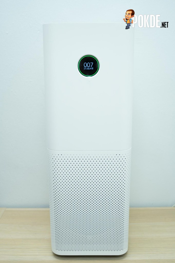 The Mi Air Purifier Pro stand at 73.50 cm