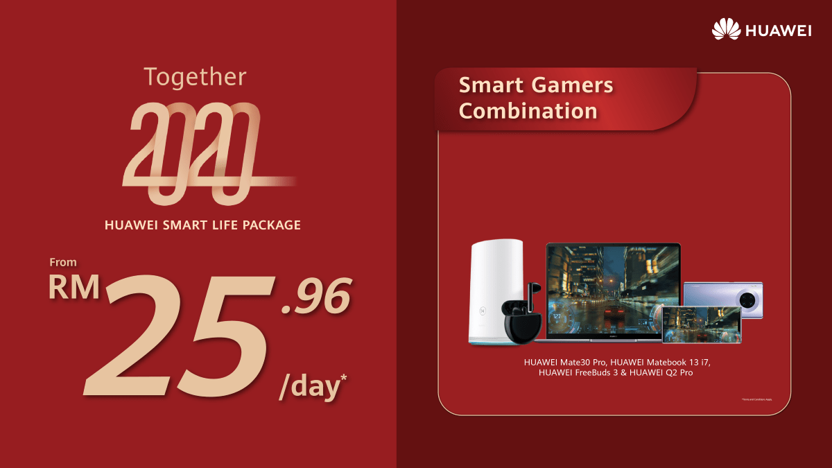 HUAWEI Smart Life Packages now offered from just RM8.97/day 20