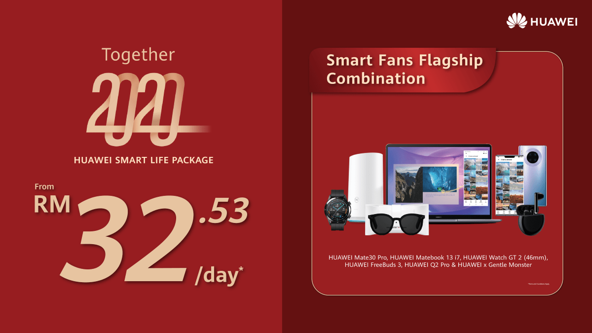 HUAWEI Smart Life Packages now offered from just RM8.97/day 21