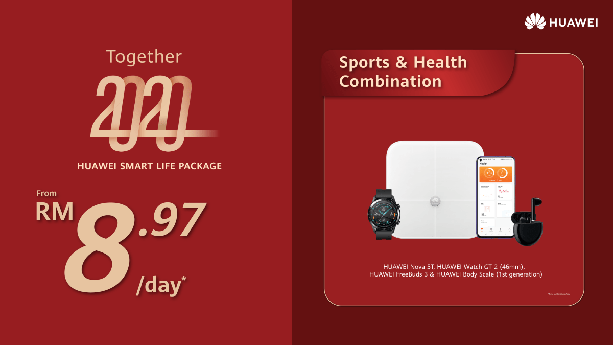 HUAWEI Smart Life Packages now offered from just RM8.97/day 22