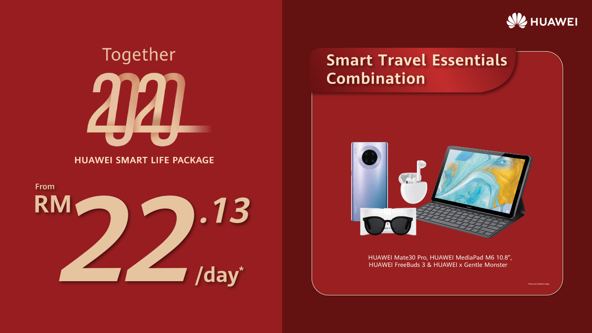 HUAWEI Smart Life Packages now offered from just RM8.97/day 23