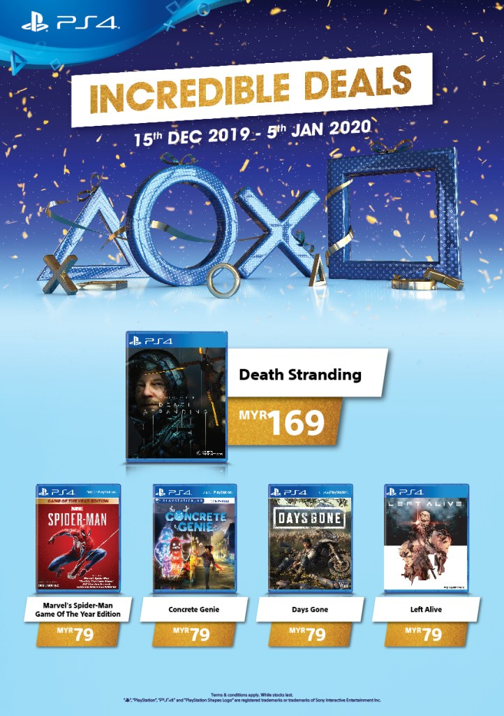 Sony Interactive Entertainment is doing something special this December 2019 as you can get the PlayStation 4, PS4 Pro, and selected games at lower prices.