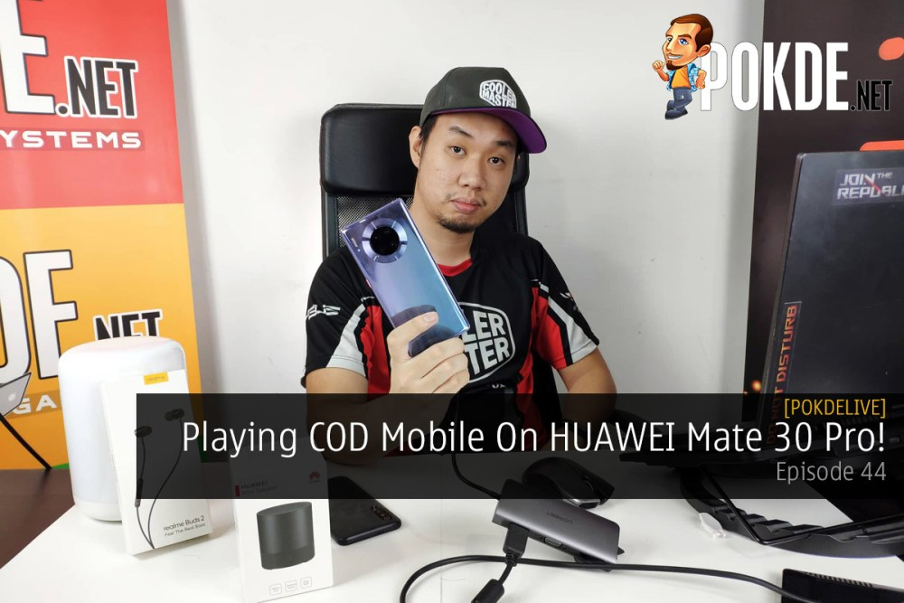 PokdeLIVE 44 — Playing COD Mobile On HUAWEI Mate 30 Pro! 21