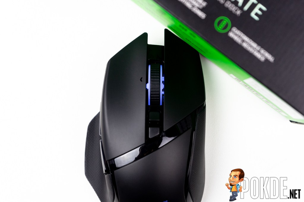 razer basilisk ultimate review clicker