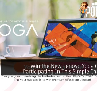 Win the New Lenovo Yoga C640 By Participating In This Simple Challenge