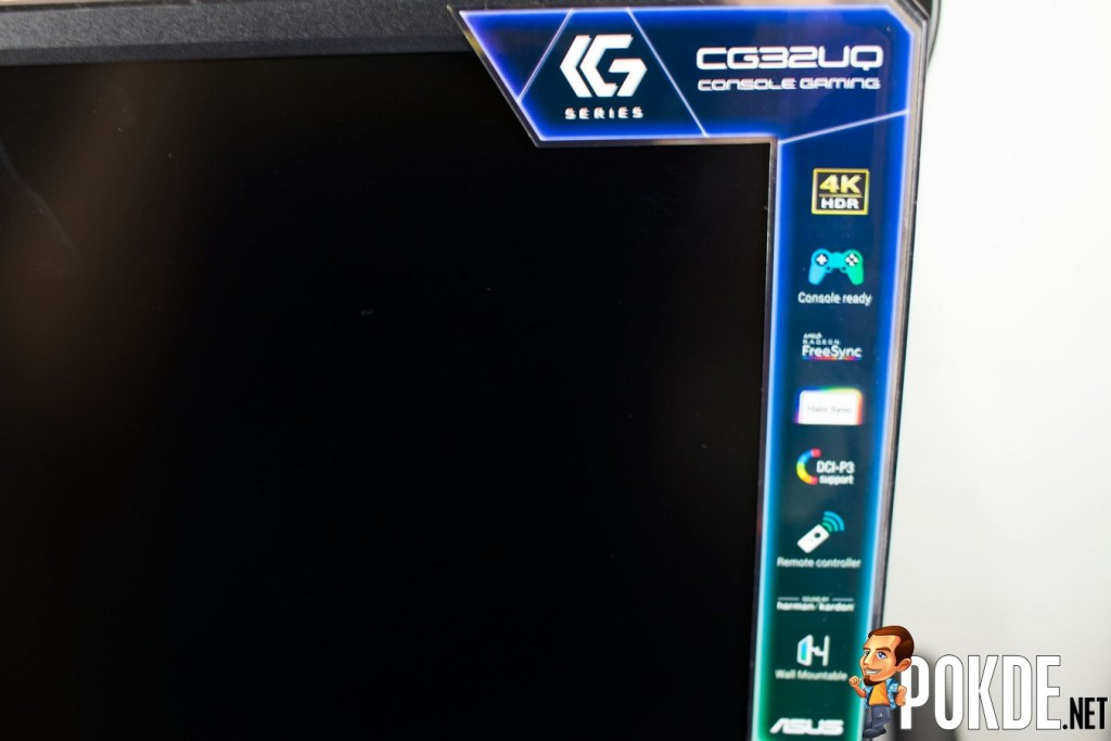 ASUS CG32UQ Console Gaming Monitor Review - It's Like a TV, But Better 33