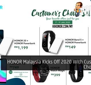 HONOR Malaysia Kicks Off 2020 With Customer's Choice Sale 41