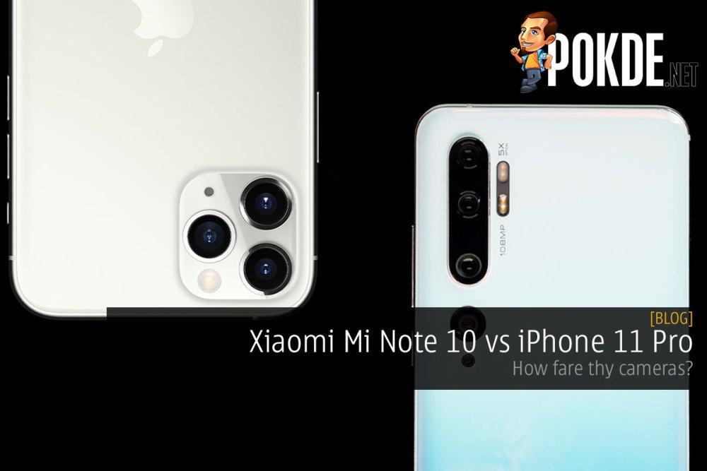 Xiaomi Mi Note 10 vs iPhone 11 Pro — how fare thy cameras? 34