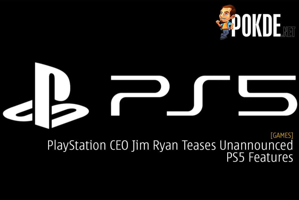 PlayStation CEO Jim Ryan Teases Unannounced PS5 Features