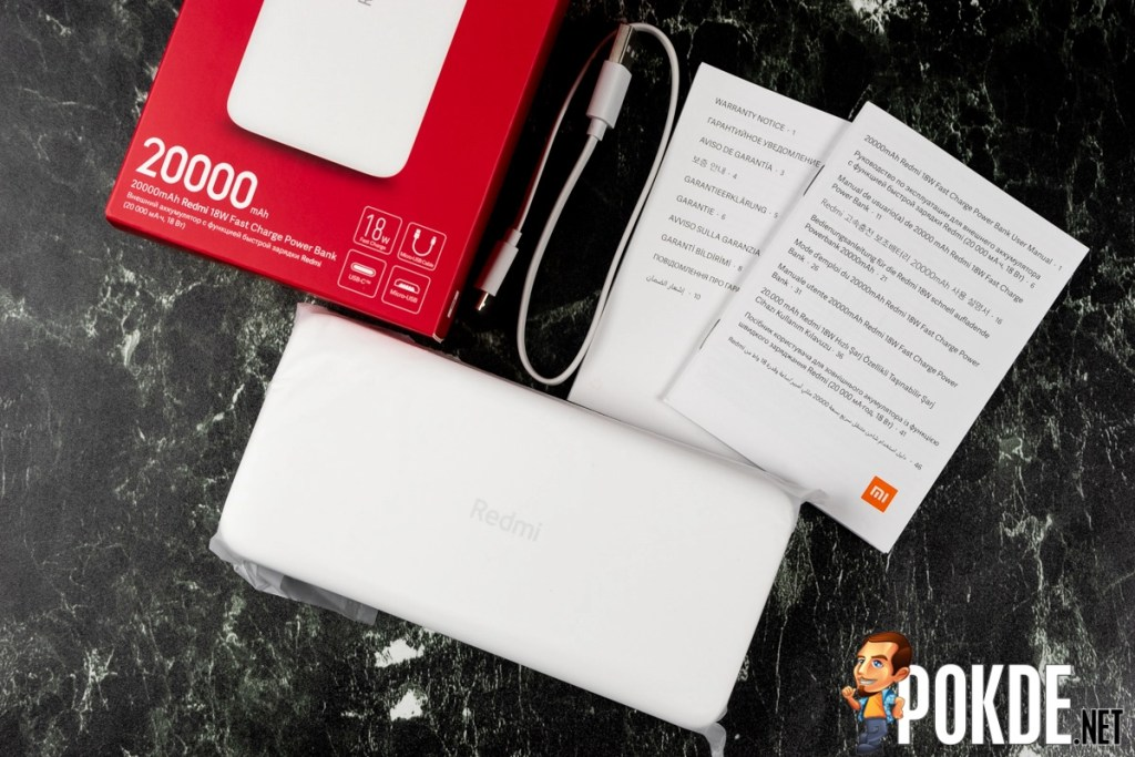20000mAh Redmi 18W Fast Charge Power Bank Hands-On 23