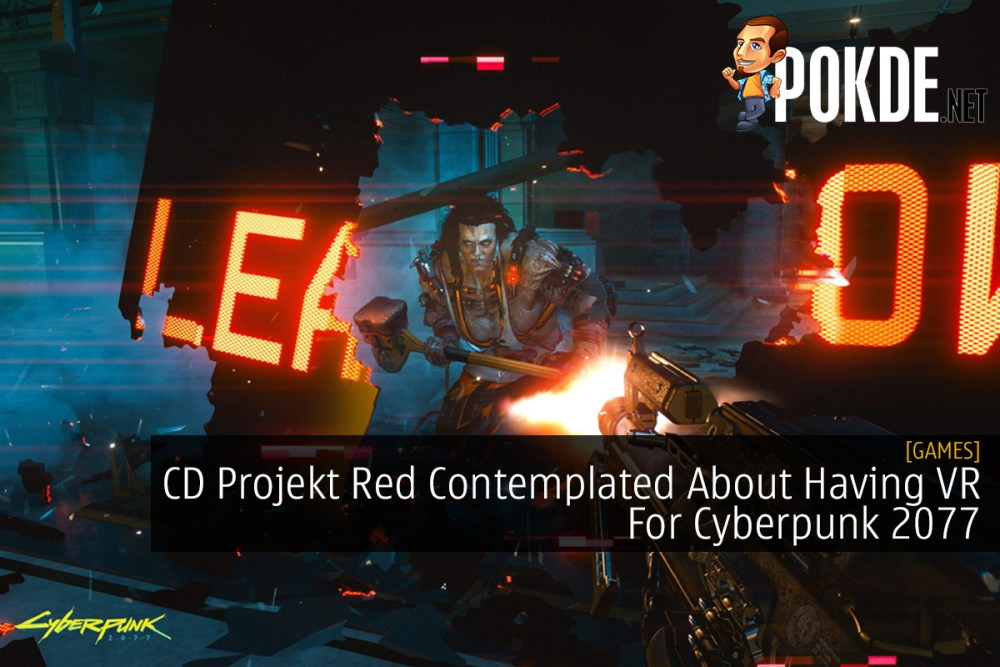CD Projekt Red Contemplated About Having VR For Cyberpunk 2077 20