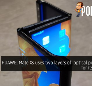 HUAWEI Mate Xs uses two layers of optical polyimide for its display 28