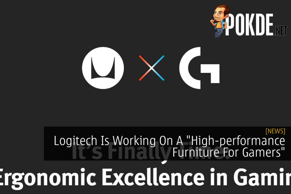 """Logitech G Is Working On A """"High-performance Furniture For Gamers"""" 34"""
