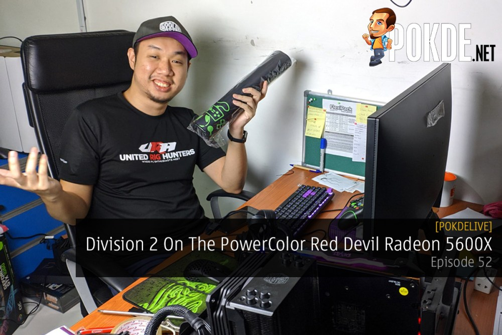 PokdeLIVE 52 — Division 2 On The PowerColor Red Devil Radeon 5600X 34