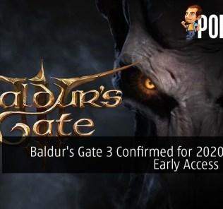 Rejoice, Baldur's Gate 3 Confirmed for 2020 Steam Early Access Launch